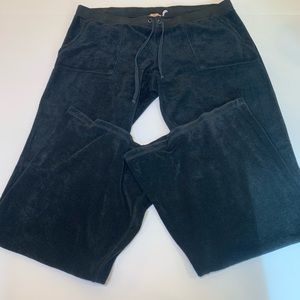 Juicy Couture Track Suit Pants Flare Wide Leg XL